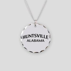 Huntsville Alabama Necklace Circle Charm