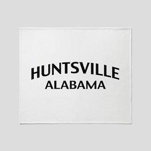 Huntsville Alabama Throw Blanket
