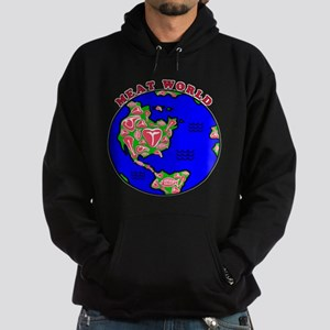 Meat World Hoodie (dark)