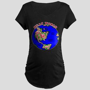 Meat World Maternity Dark T-Shirt