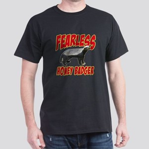 Fearless Honey Badger Dark T-Shirt