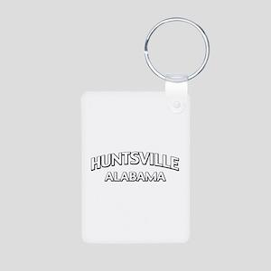 Huntsville Alabama Aluminum Photo Keychain