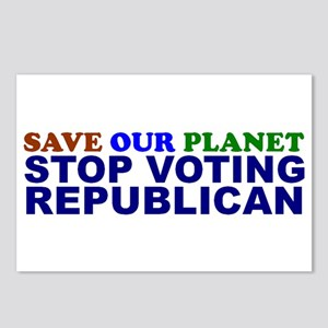 SAVE OUR PLANET Postcards (Package of 8)