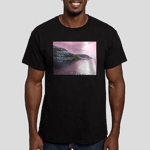 Job 37:14 Men's Fitted T-Shirt (dark)