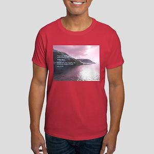 Job 37:14 Dark T-Shirt