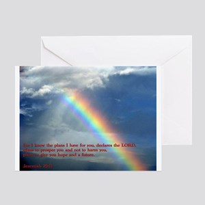 Jeremiah 29:11 Greeting Card