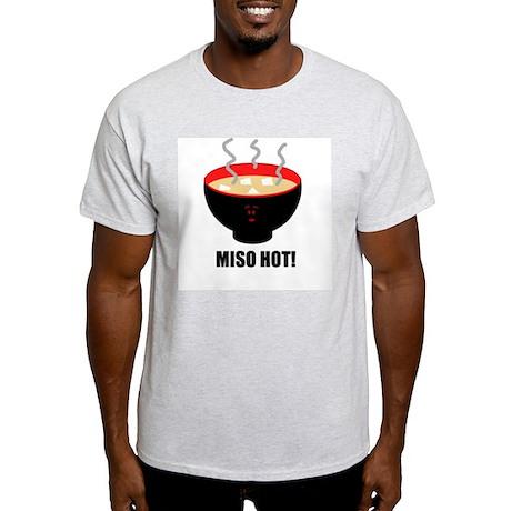 MISO HOT! Ash Grey T-Shirt
