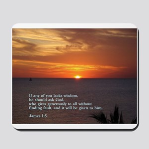 James 1:5 Mousepad