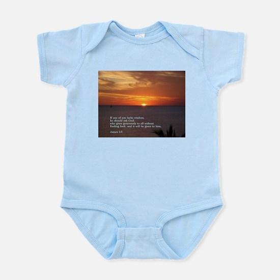 James 1:5 Infant Bodysuit