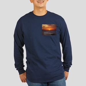 James 1:5 Long Sleeve Dark T-Shirt