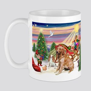 Santa's Golden Treat Mug