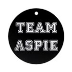 Team Aspie Ornament (Round)