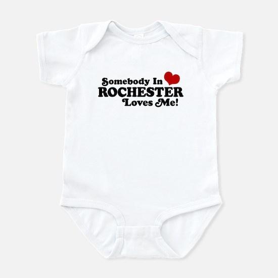 Somebody In Rochester Loves Me Infant Bodysuit