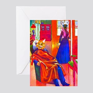 Cat People Greeting Cards (Pk of 10)