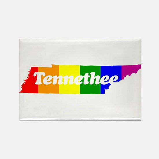Tennethee Rectangle Magnet