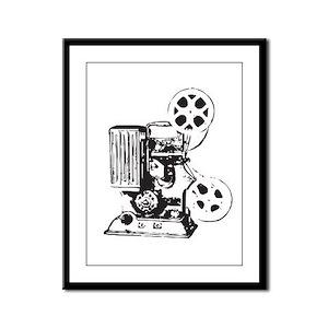 Projector Framed Panel Print