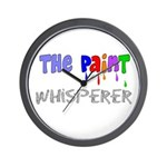 The Whisperer Occupations Wall Clock