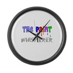 The Whisperer Occupations Large Wall Clock