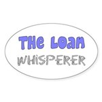 The Whisperer Occupations Sticker (Oval 10 pk)