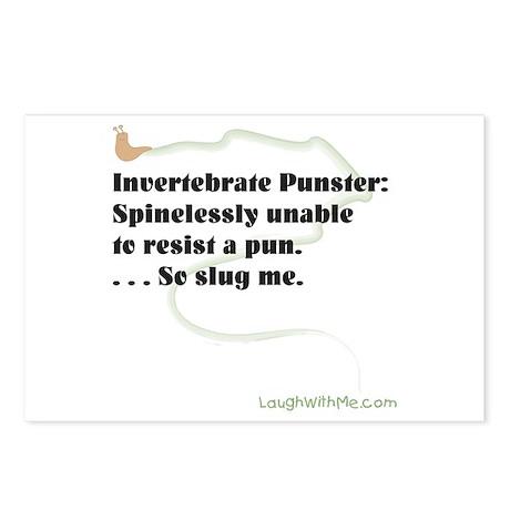 Invertebrate Punster Postcards (Package of 8)