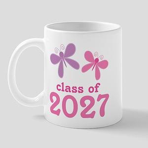 Class of 2027 Girls Graduation Mug