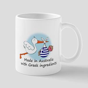 Stork Baby Greece Australia Mug