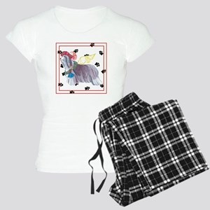 Gulliver's Angels Bearded Collie Women's Pajamas