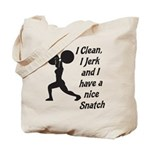 Nice Snatch Tote Bag