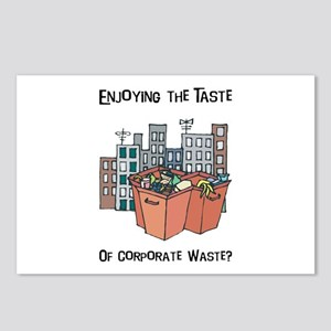 Corporate Waste Postcards (Package of 8)