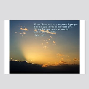 John 14:27 Postcards (Package of 8)