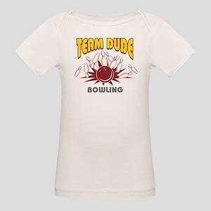 Team Dude Bowling Organic Baby T-Shirt