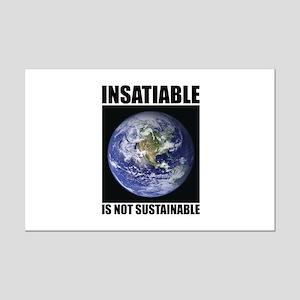 Insatiable Mini Poster Print