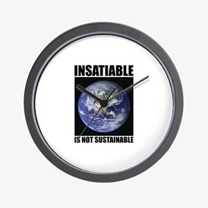 Insatiable Wall Clock