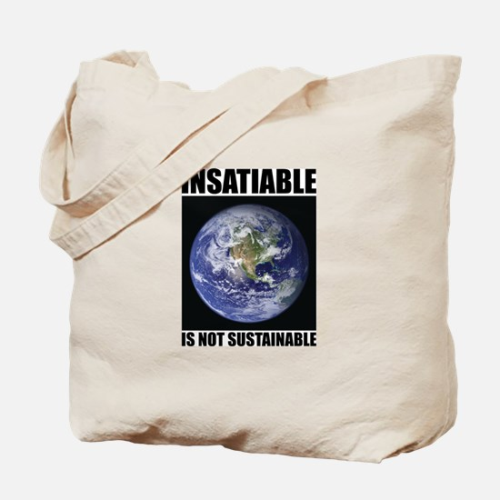 Insatiable Tote Bag