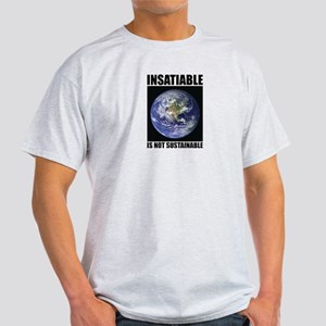 Insatiable Ash Grey T-Shirt
