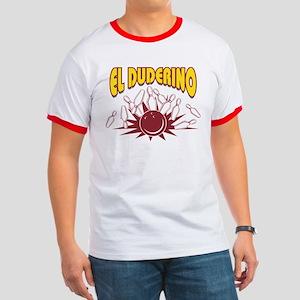 El Duderino Bowling Ringer T