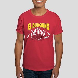 El Duderino Bowling Dark T-Shirt