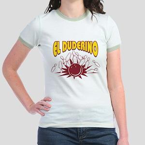 El Duderino Bowling Jr. Ringer T-Shirt