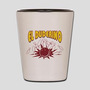 El Duderino Bowling Shot Glass
