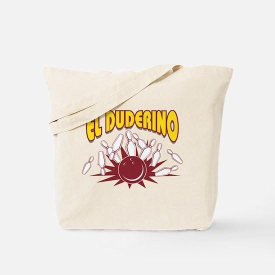 El Duderino Bowling Tote Bag