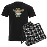 2012 ron paul tea party Men's Dark Pajamas