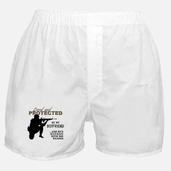 Unique Navy boyfriend Boxer Shorts