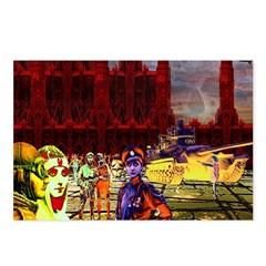 Blood Red Towers Postcards (Package of 8)
