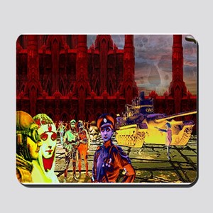 Blood Red Towers Mousepad