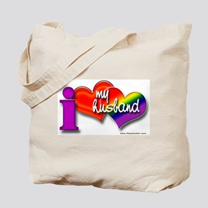 I love my husband - gay Tote Bag