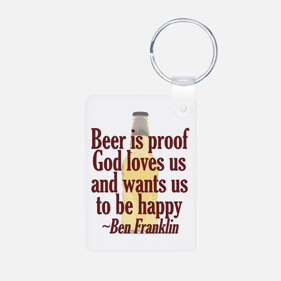 Beer is Proof Keychains