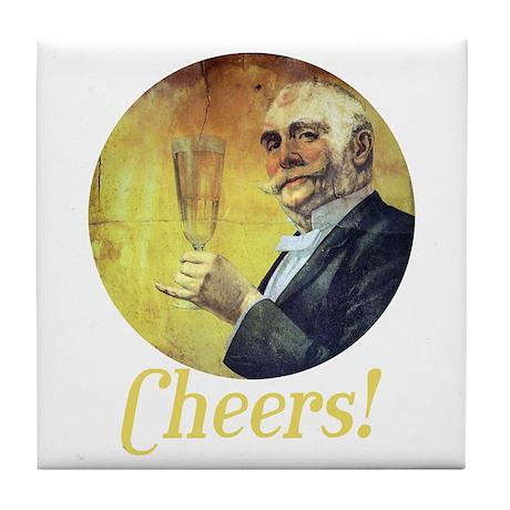 Cheers! Tile Coaster