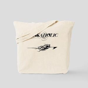 Inkaholic (w/tribal) Tote Bag