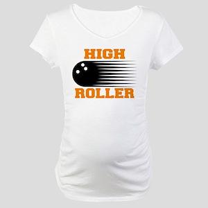 High Roller Bowling Maternity T-Shirt