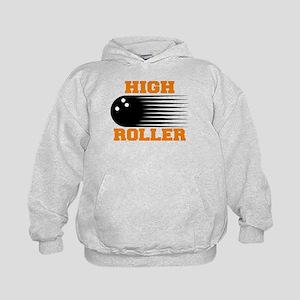 High Roller Bowling Kids Hoodie